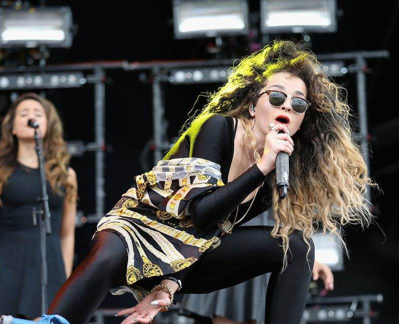 Ella Eyre at the Isle Of Wight Festival 2014