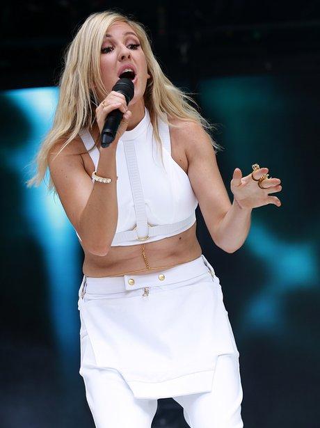 Ellie Goulding Summertime Ball 2014 Performance