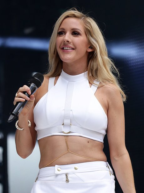 Ellie Goulding Summertime Ball 2014 Performance