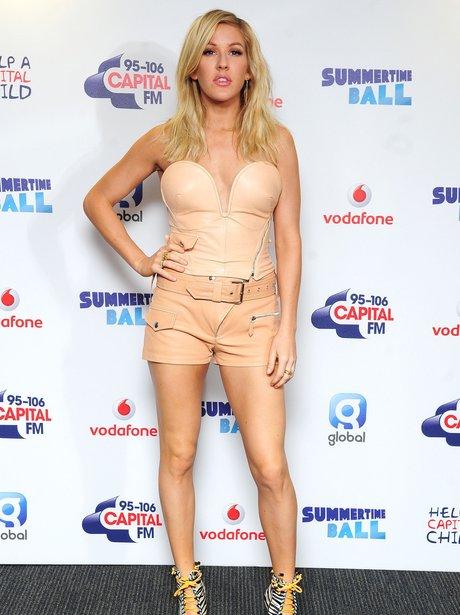 Ellie Goulding Summertime Ball 2014 Red Carpet