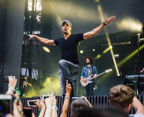 Enrique Iglesias live at the Summertime Ball 2014