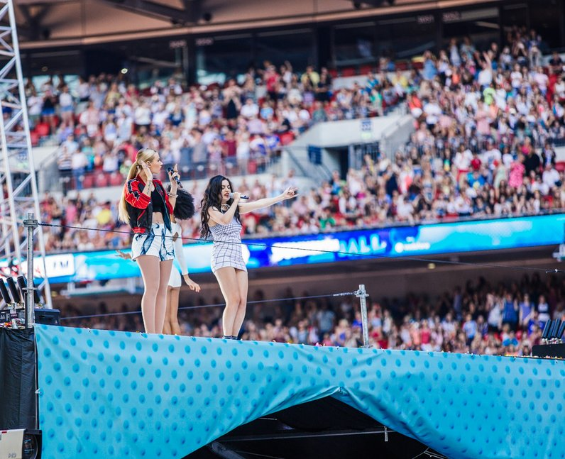 Iggy Azalea live at the Summertime Ball 2014