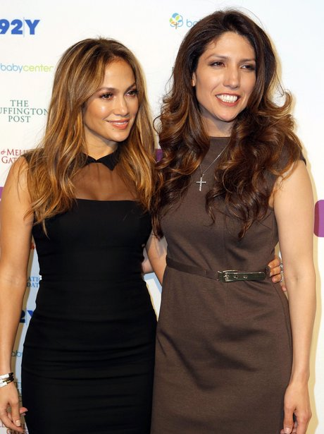 Jennifer Lopez and Sister