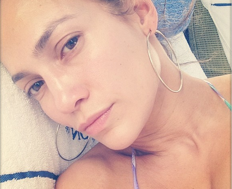Jennifer Lopez No Make-Up