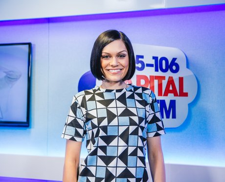 Jessie J backstage at the Summertime Ball 2014