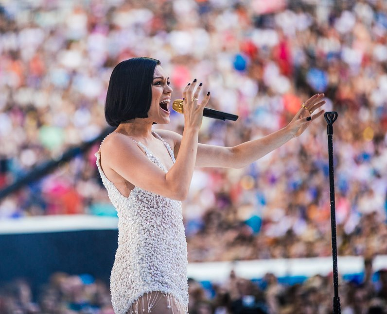 Jessie J live at the Summertime Ball 2014
