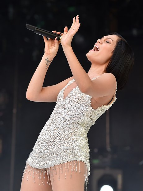 Jessie J Summertime Ball 2014
