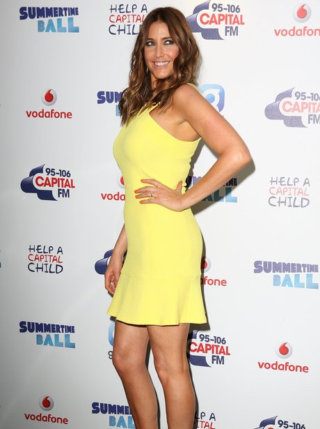 Lisa Snowdon Summertime Ball 2014