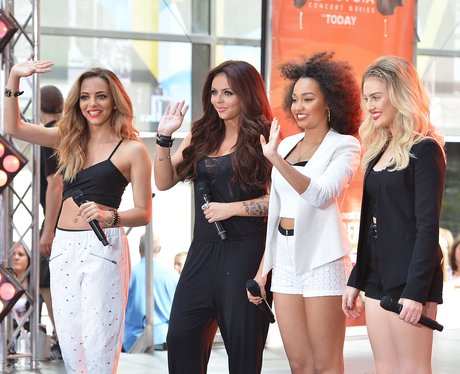 """Little Mix perform on NBC' """"Today"""" 2014"""