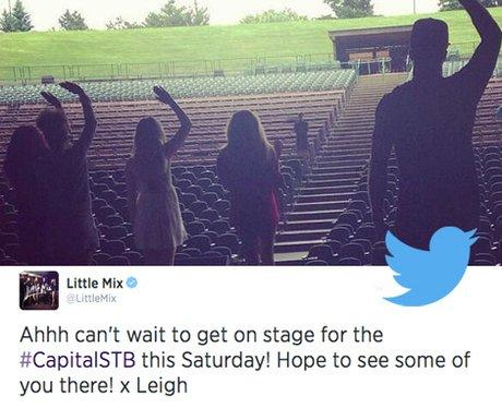 Little Mix STB Tweet