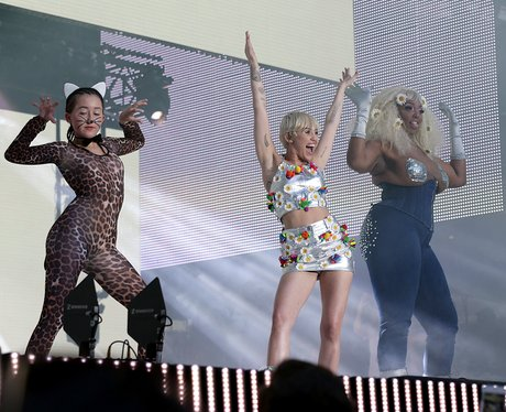 Miley Cyrus Summertime Ball Performance 2014
