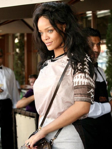 Rihanna attending a business meeting