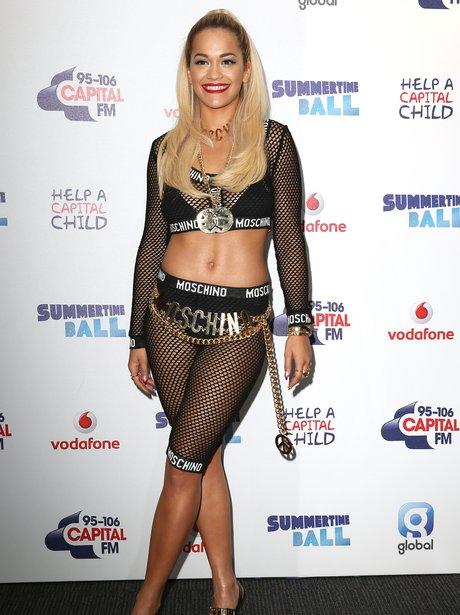 Rita Ora Summertime Ball 2014 Arrivals