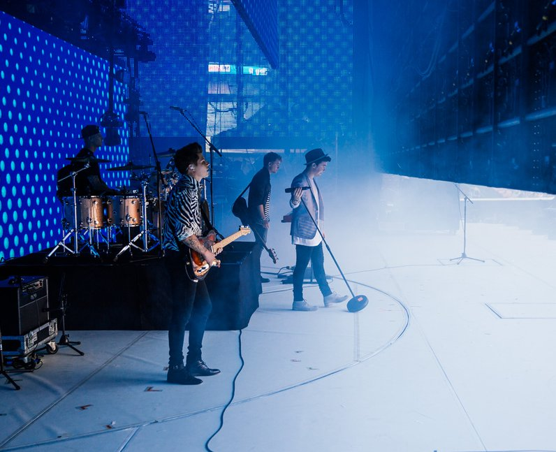 Rixton live at the Summertime Ball 2014