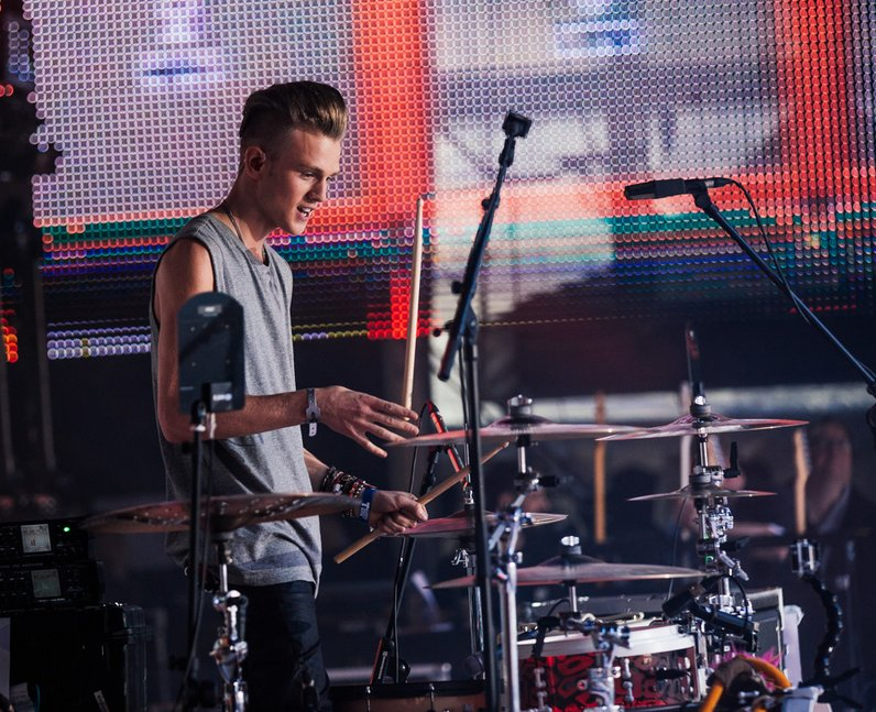 The Vamps live at the Summertime Ball 2014