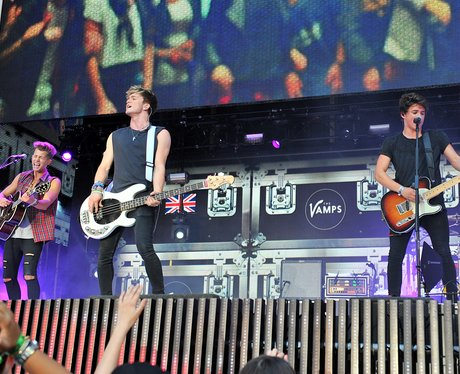 The Vamps Summertime Ball Performance 2014