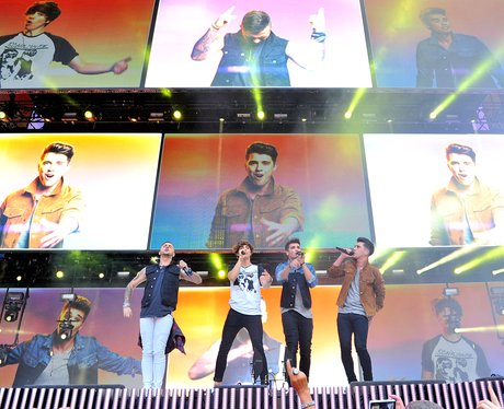 Union J Summertime Ball 2014 Performance