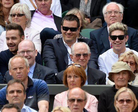 Liam Payne and Niall Horan Wimbledon