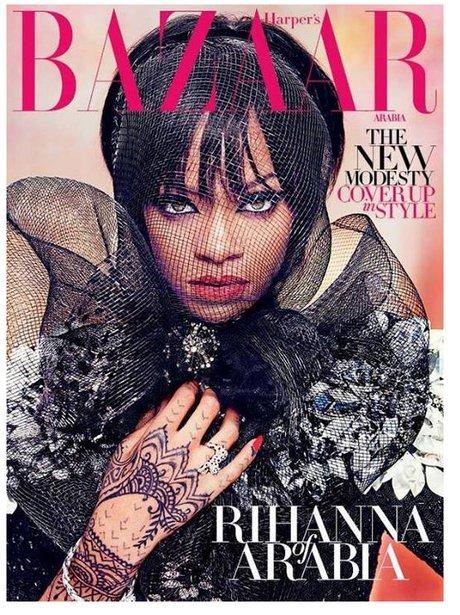 Rihanna Harper's Bazar Arabia 2014