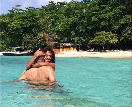 Solange Knowles on holiday