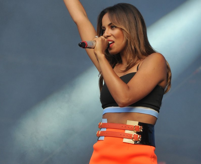 The Saturdays at North East Live 2014