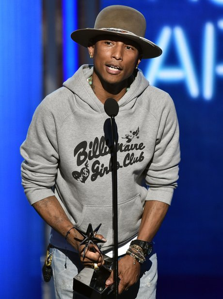 Pharrell Williams at the BET Awards 2014
