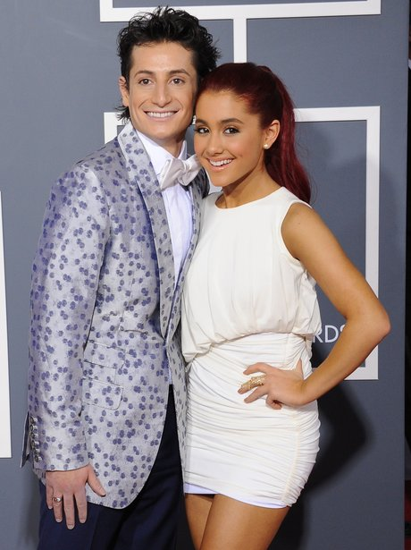 Ariana Grande and Brother Frankie