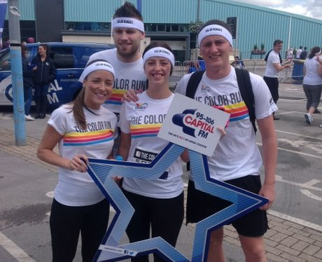 Capital FM at the Manchester Color Run