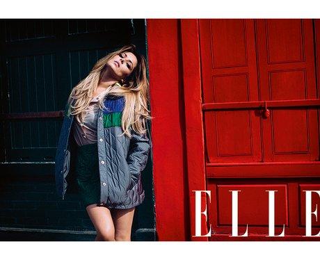 Cheryl Cole ELLE Magazine 2014