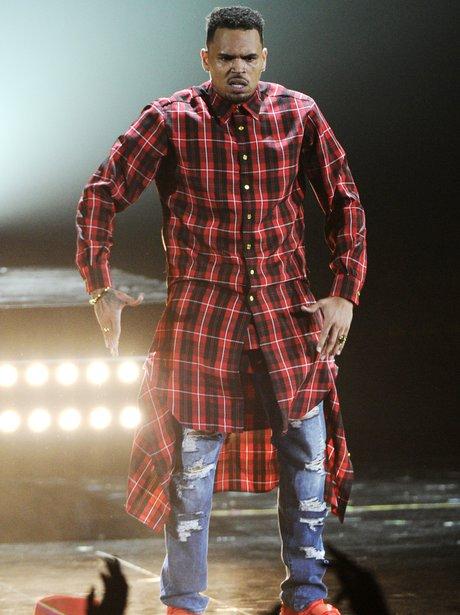 Chris Brown BET Awards 2014