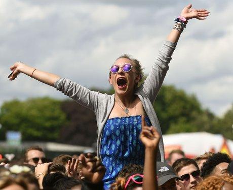 Crowd At Wireless Festival 2014 Birmingham
