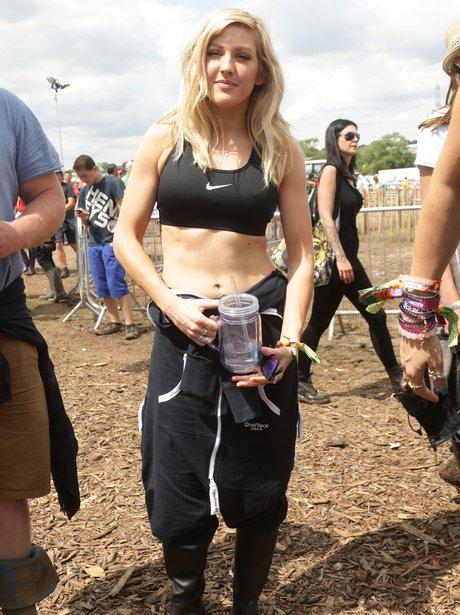 Ellie Goulding Glastonbury 2014