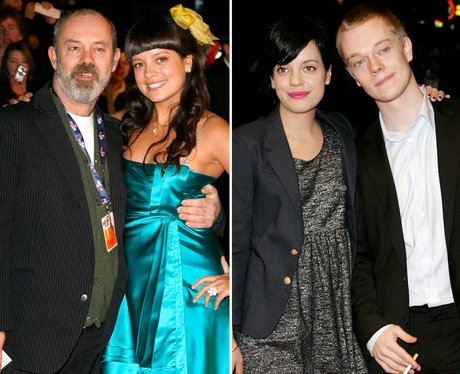 Lily Allen with Brother and Dad