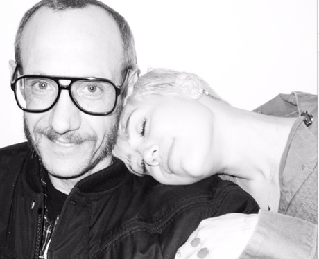 Miley Cyrus and Terry Richardson