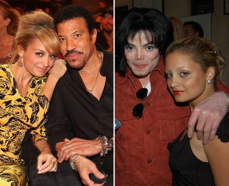 Nicole and Lionel Ritchie and Michael Jackson