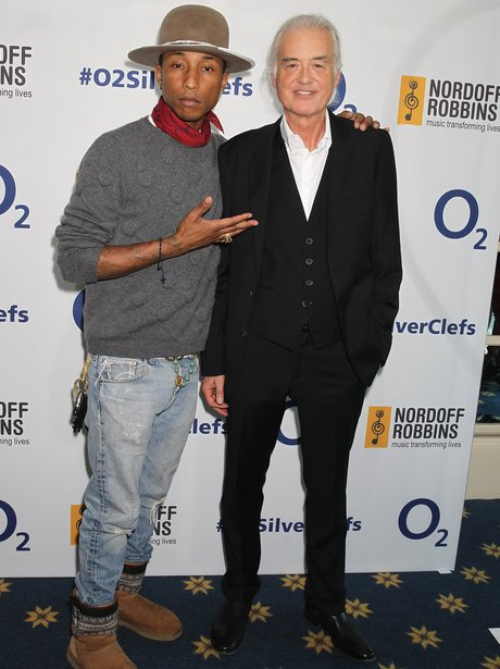 Pharrell Silver Cleff Awards 2014