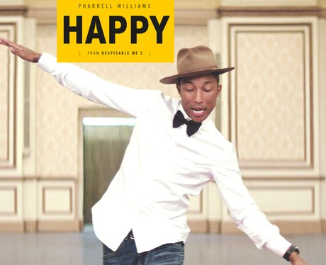 Pharrell Williams Happy Single Cover