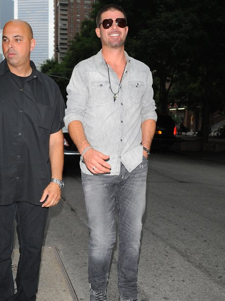 Robin Thicke out and about in New York