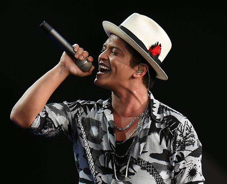 Bruno Mars at Wireless Festival 2014