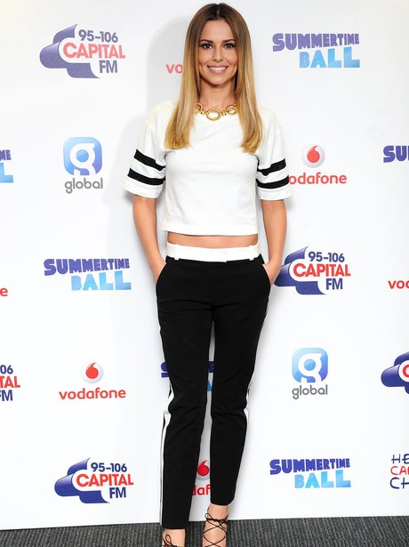 Cheryl Cole arrives at Summertime Ball 2014