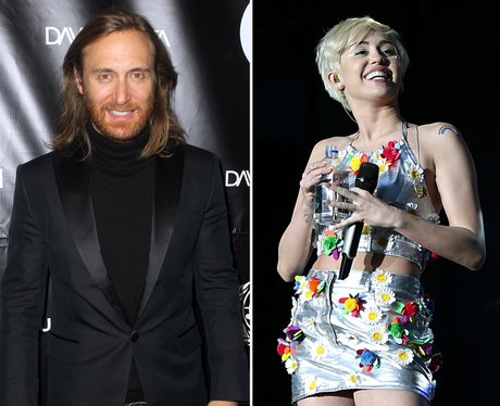 David Guetta and Miley Cyrus
