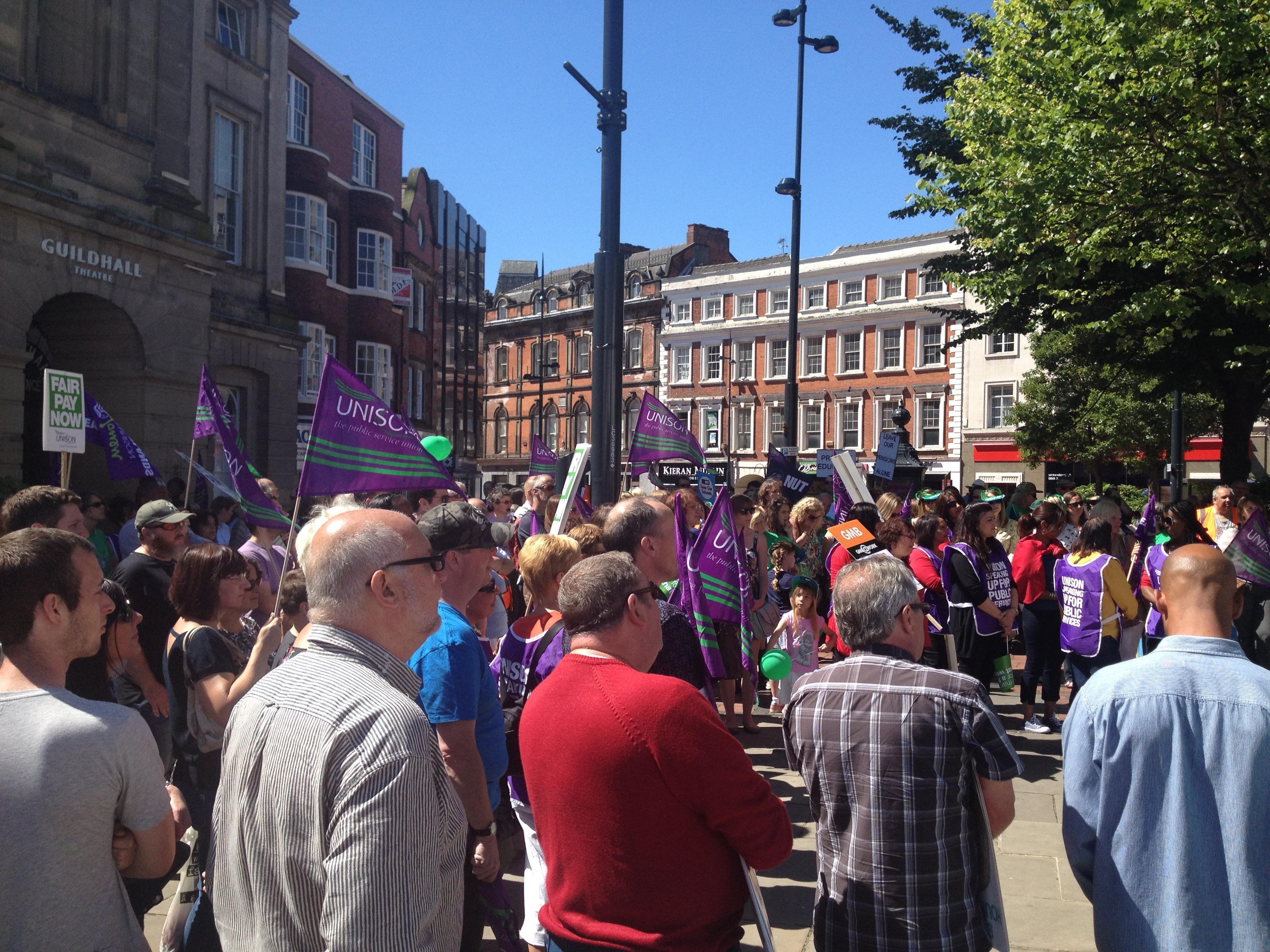 Derby Strikes Rally
