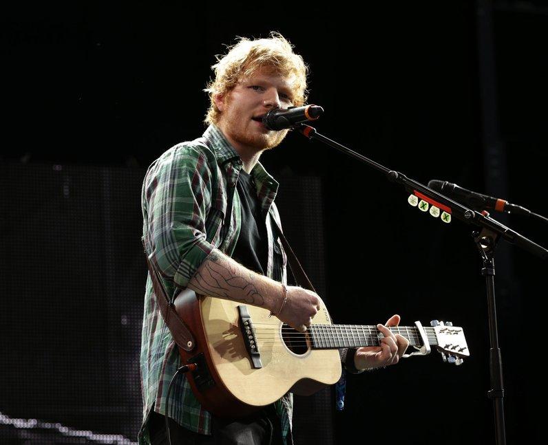 Ed Sheeran T In The Park 2014