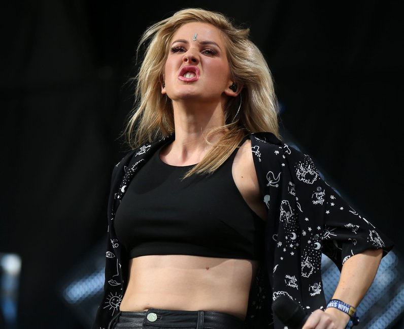 Ellie Goulding T In The Park 2014