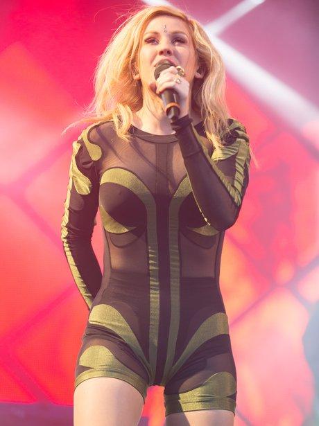 Ellie Goulding live at the Eden Sessions