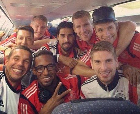 Germany Lukas Podolski selfie