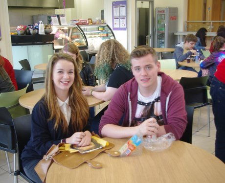 Hartlepool College with  Rob Howard