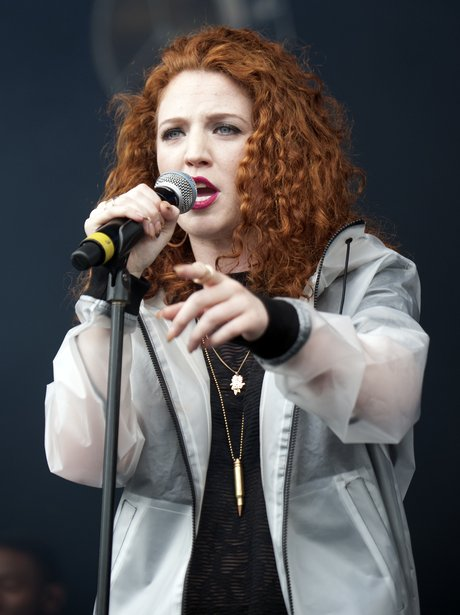 Jess Glynne performs at festival