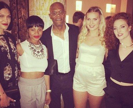 Jess Glynne Samuel L Jackson Instagram
