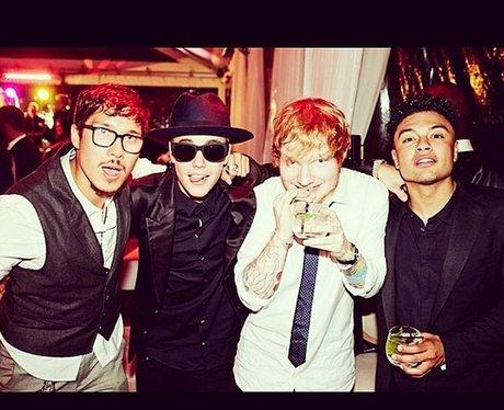 Justin Bieber Ed Sheeran Instagram